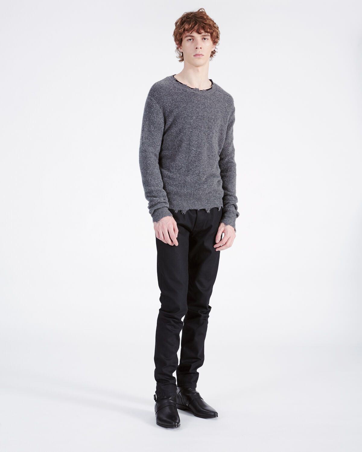 IRO - LENNON SWEATER ANTHRACITE