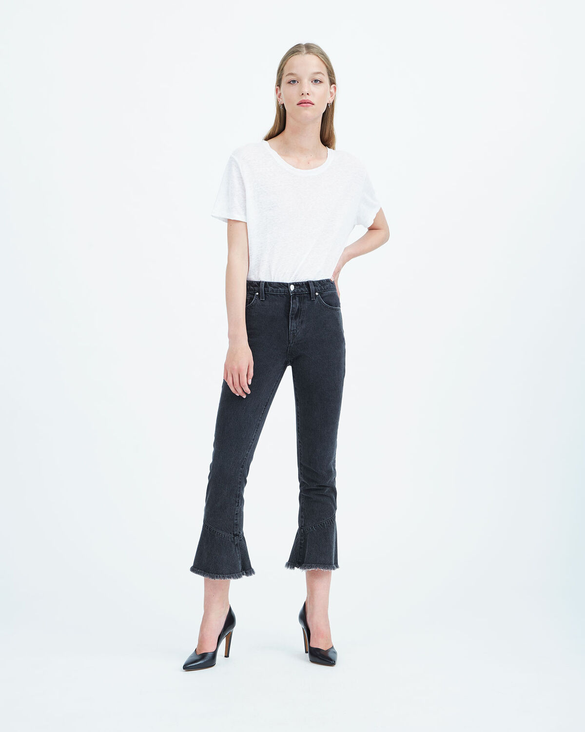 IRO - BERRYX.US JEANS BLACK DENIM