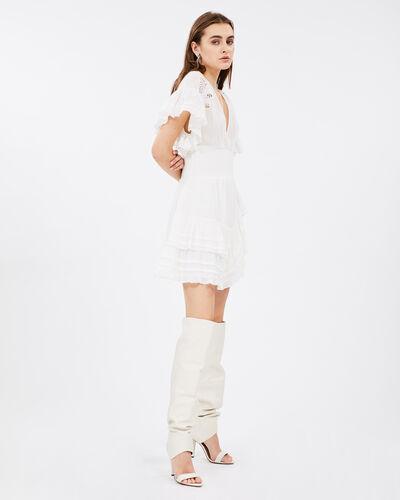 IRO - MAPPLE DRESS WHITE