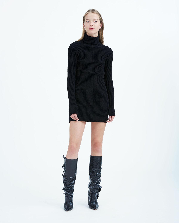 IRO - BILOH DRESS BLACK