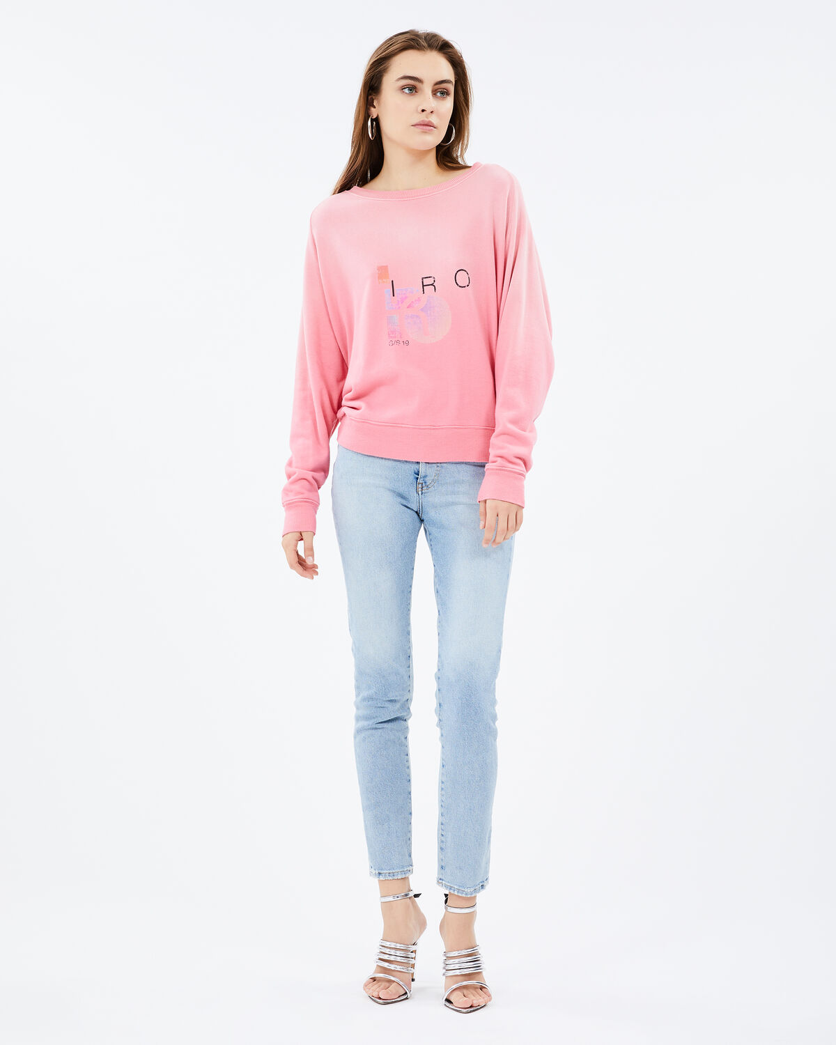 Advent Sweater Candy Pink by IRO Paris