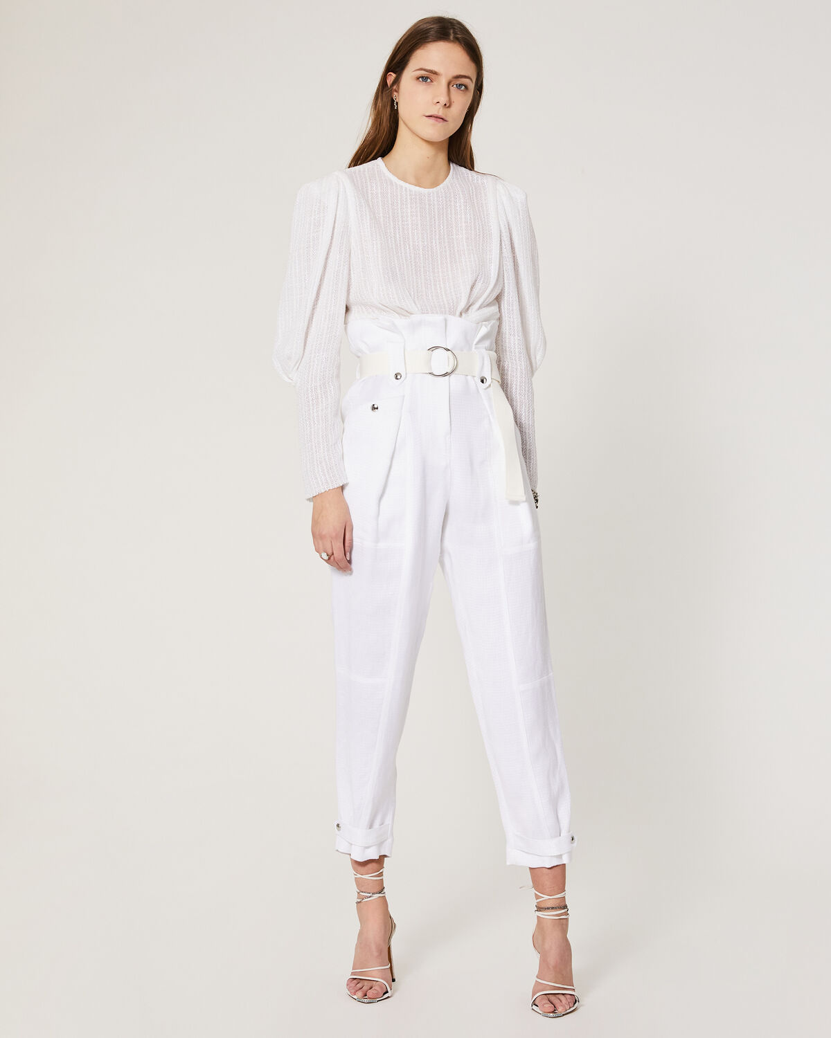 IRO - TOUVOIS TOP WHITE