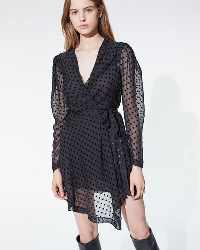 IRO - OXOMO DRESS BLACK