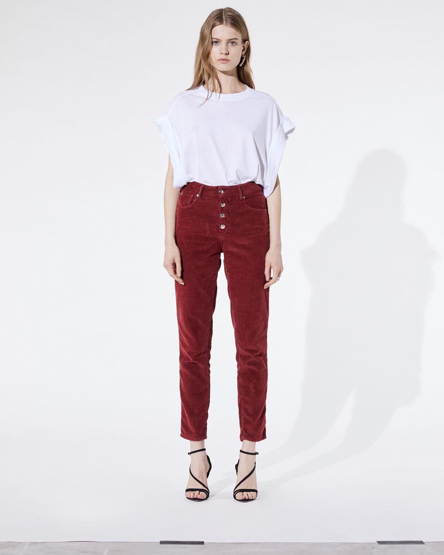 Gaemy Jeans Burgundy by IRO Paris