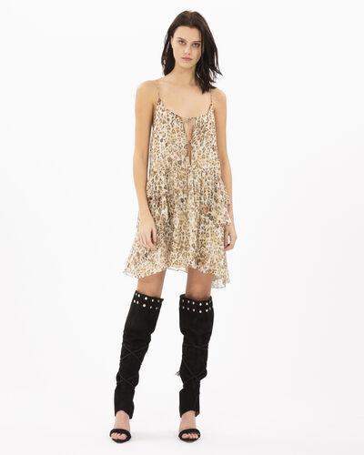 Iro Buzon Dress In Ecru