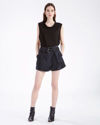 IRO - EVEN TANK TOP BLACK