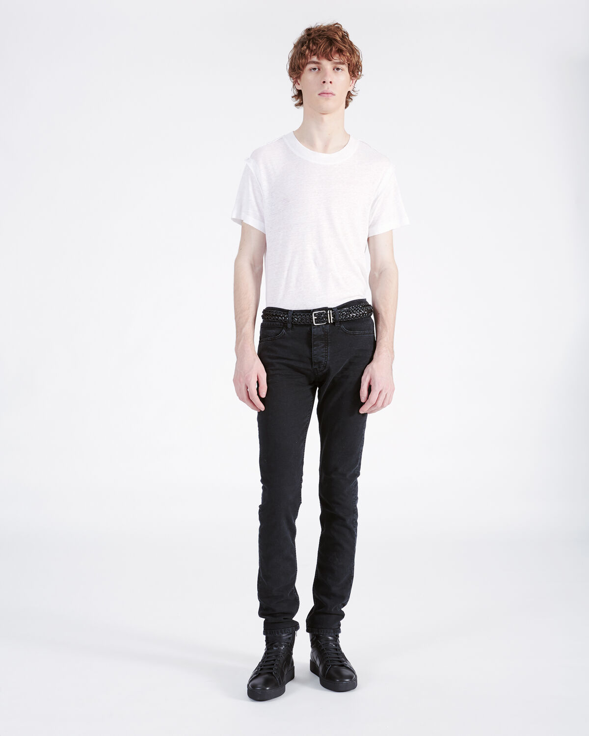 IRO - ENZO JEANS USED BLACK