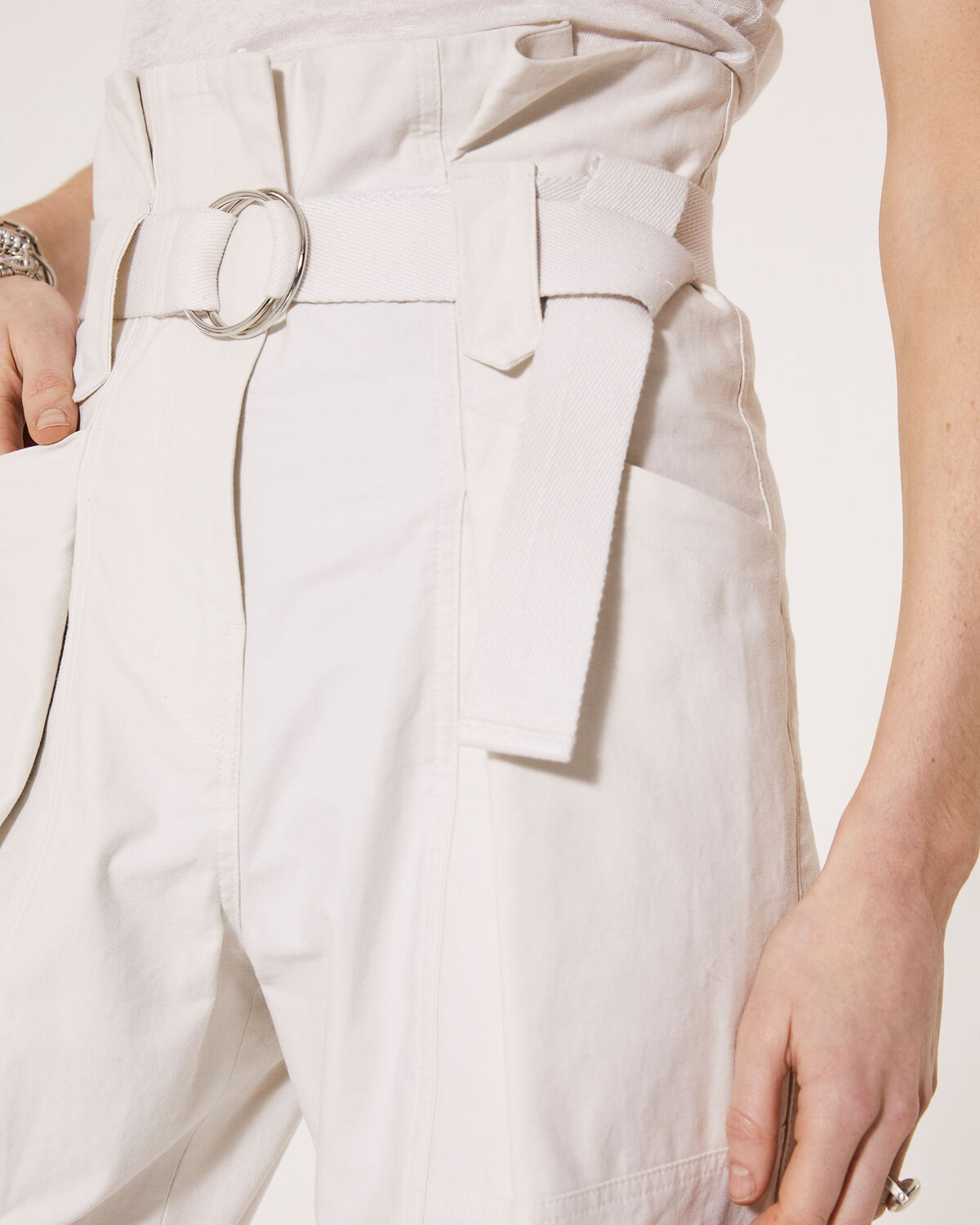 IRO - CURSOLA TROUSERS CLOUDY WHITE