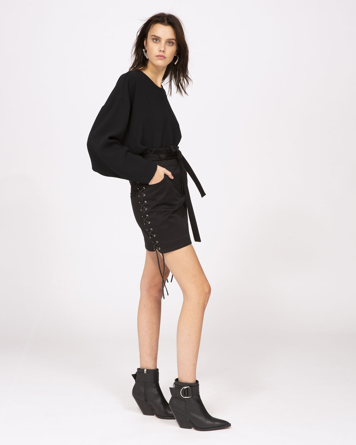 IRO - GOODLY SKIRT BLACK