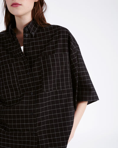 IRO - REGATTA SHIRT BLACK