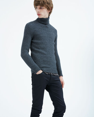 IRO - JERICHO SWEATER INDIGO GREY