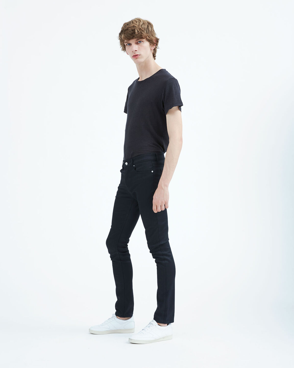 IRO - FREEK JEANS BLACK