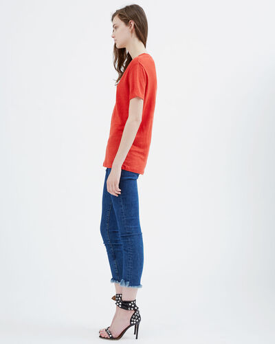 IRO - T-SHIRT LIBBY RED