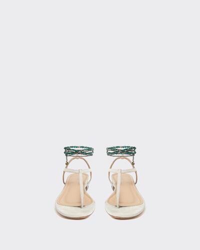 IRO - ASTLEY SANDALS WHITE