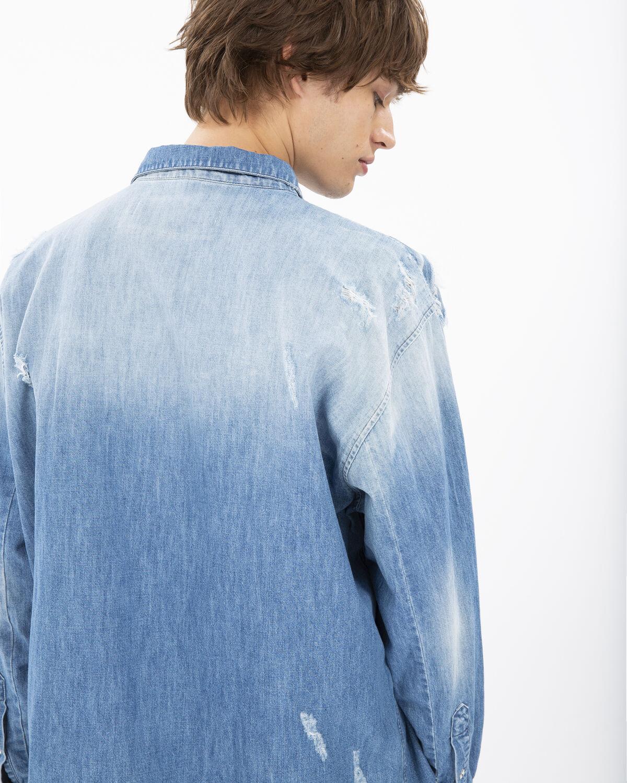 IRO - INSIGHT SHIRT BLUE
