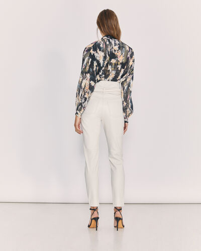 IRO - PANTALON ELDRED OFF WHITE