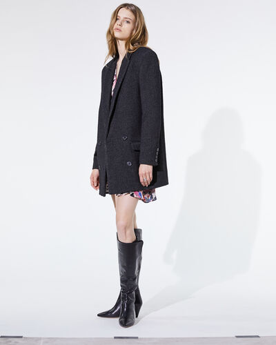 IRO - ACHASA COAT ANTHRACITE