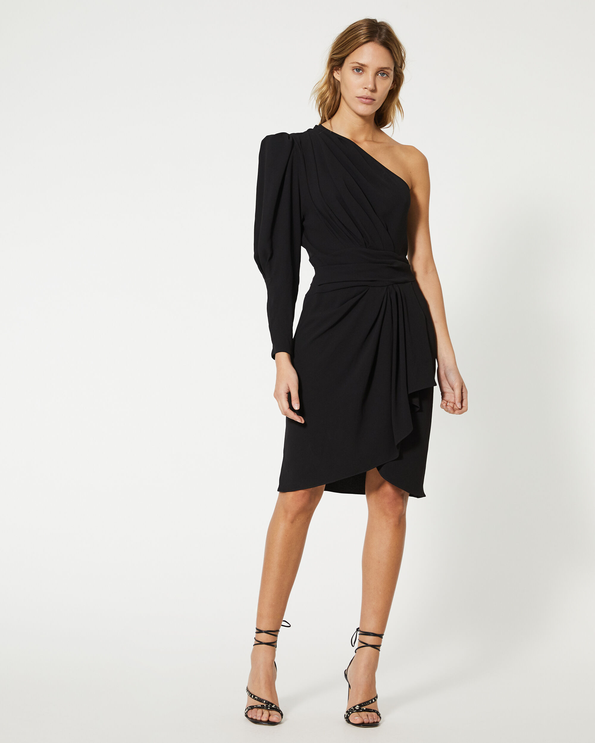 이로 원피스 IRO ROBE HUGIN,BLACK
