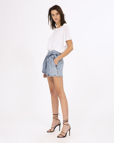 IRO - LOYAL SHORTS ACID BLUE