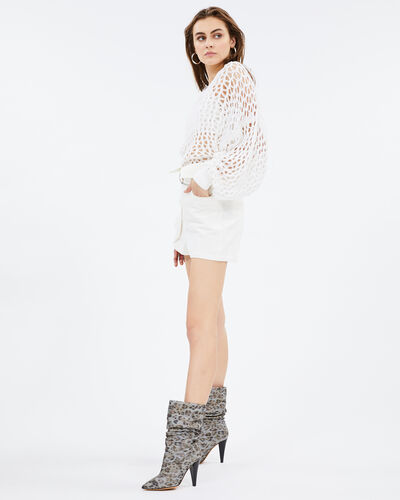 IRO - SHEEN SWEATER WHITE
