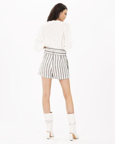 IRO - LULAR SHORTS BLACK/WHITE