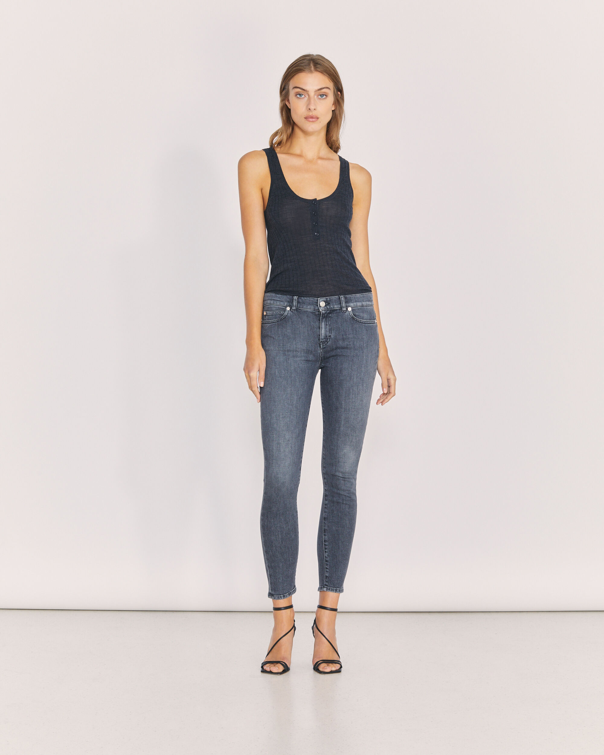 IRO TOBER JEANS,GREY WASHED