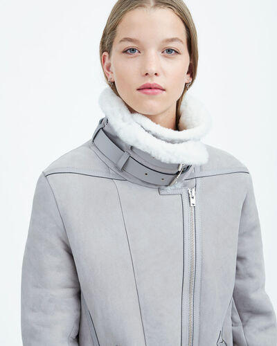 IRO - BARRETT COAT BLUE GREY
