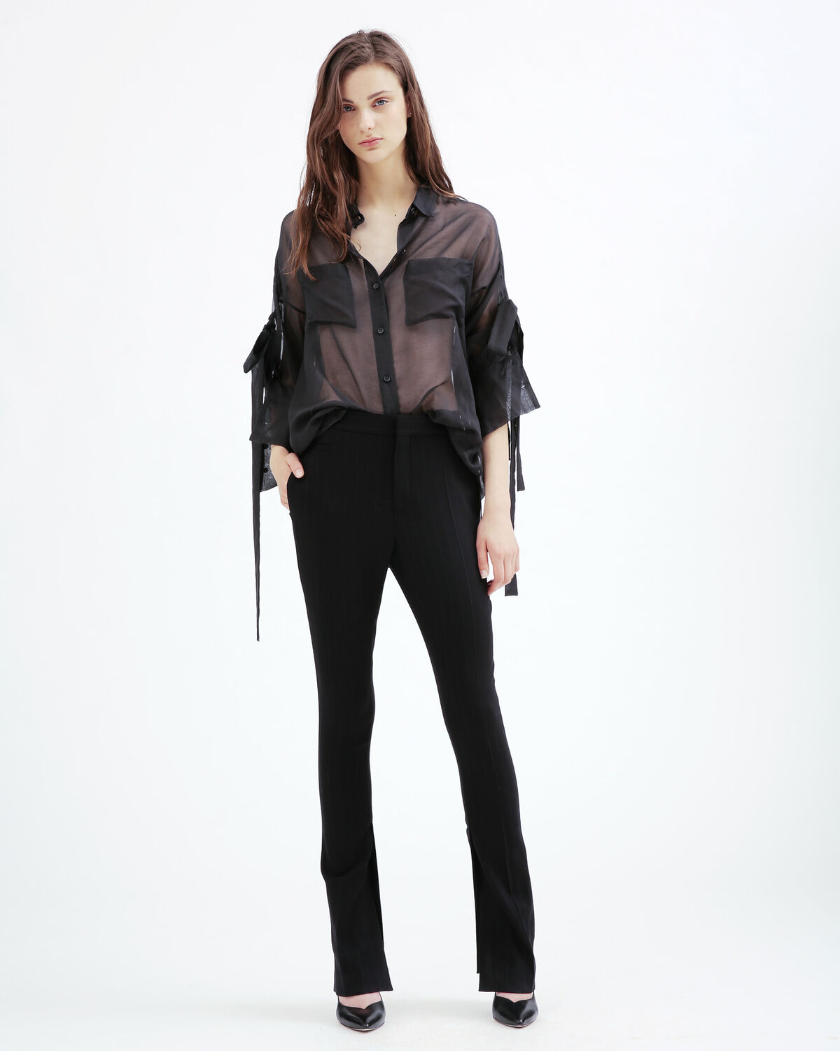 IRO - GENA SHIRT BLACK