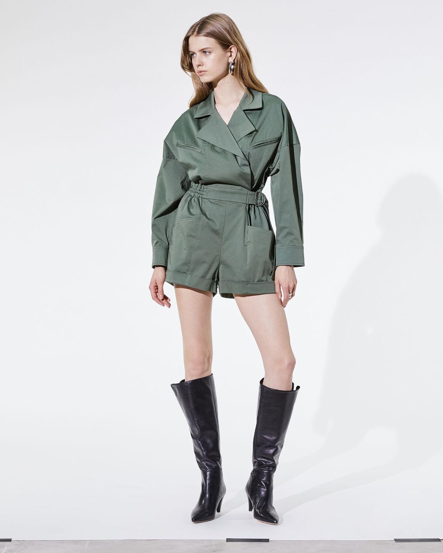 Belo Playsuit Khaki by IRO Paris