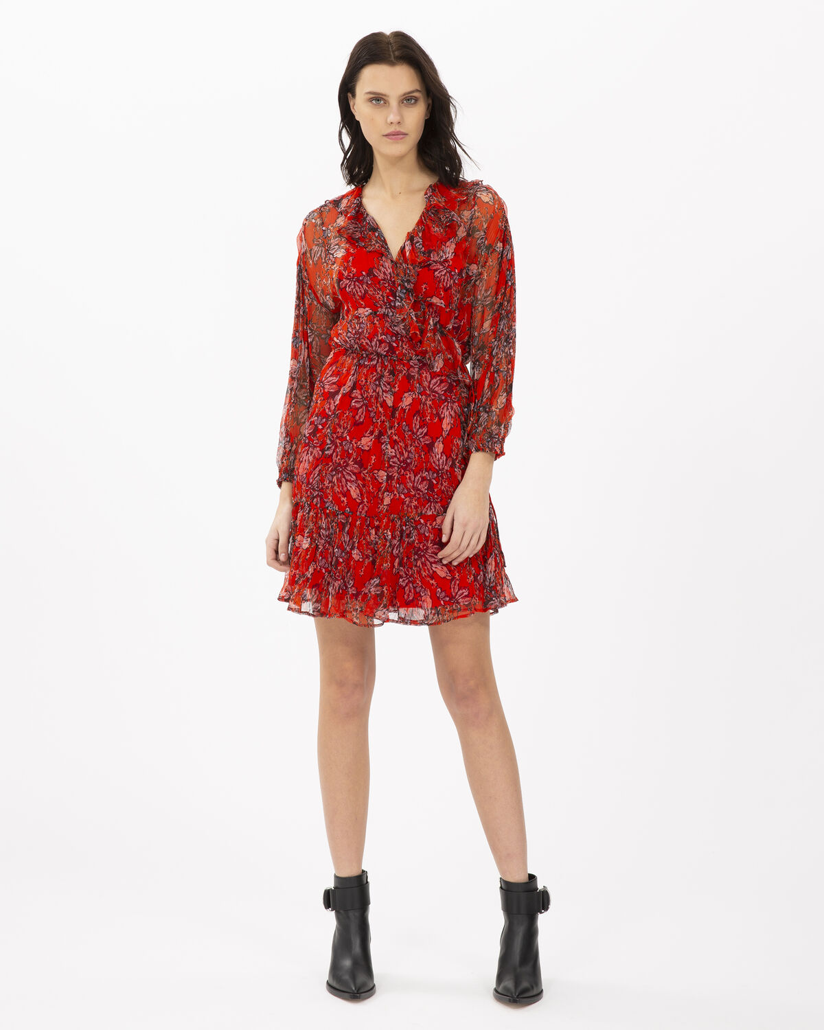 IRO - PACIFY DRESS RED