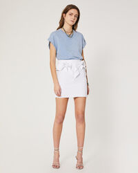 IRO - NAPOLA SKIRT WHITE