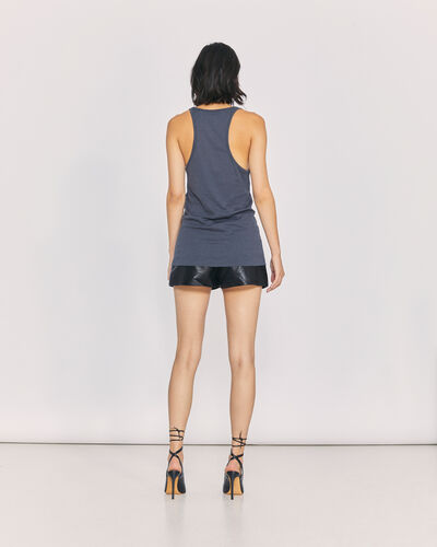 IRO - T-SHIRT AMELY ANTHRACITE