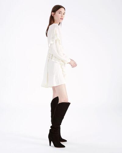 IRO - NINE DRESS ECRU
