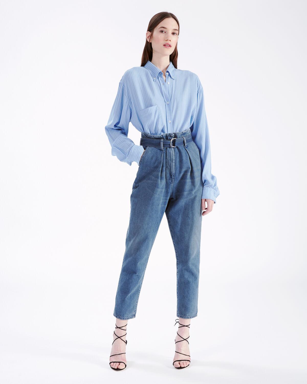 IRO - LINE SHIRT BLUE