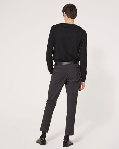 IRO - METTE TROUSERS DARK GREY