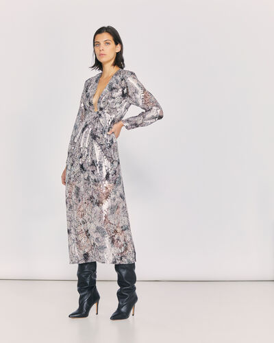 IRO - ROUNIEA DRESS GREY