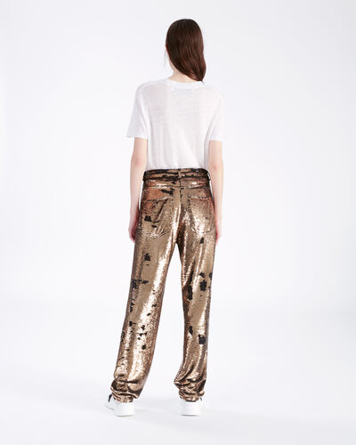 IRO - CONSTRUCTION PANTS BLACK/GOLD