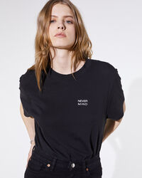 IRO - NELKAR T-SHIRT BLACK