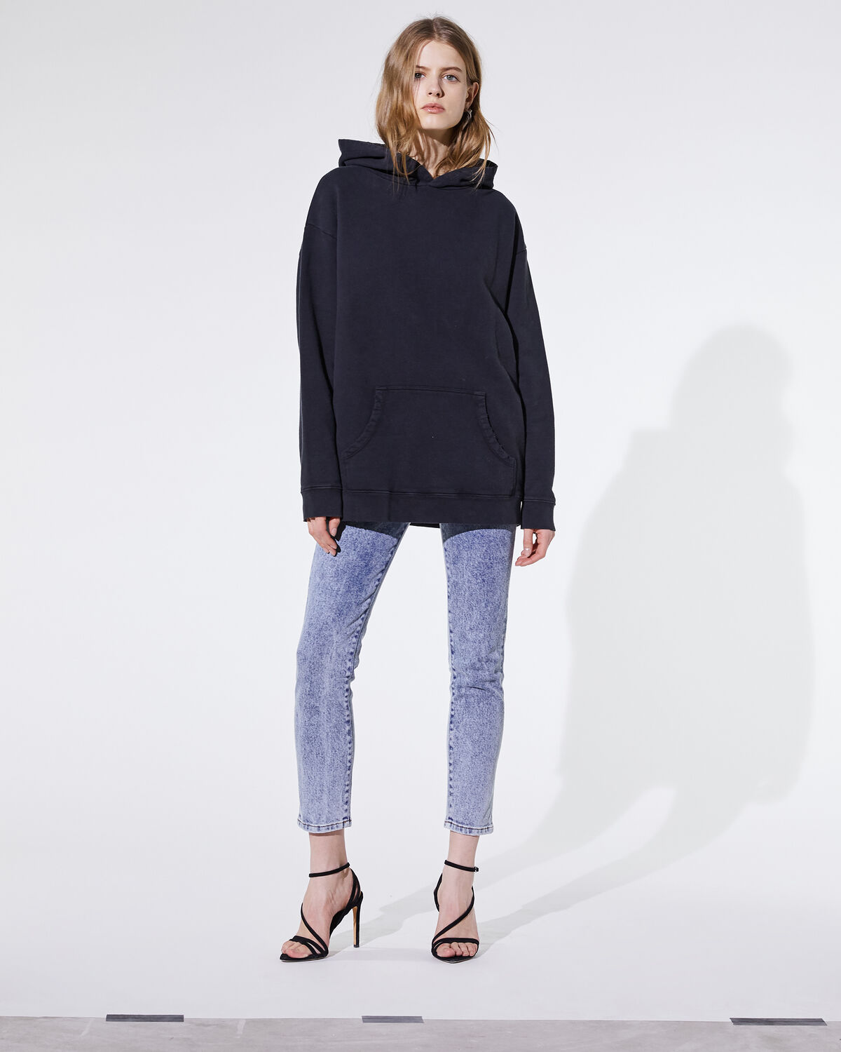 IRO - LUCKY SWEATSHIRT USED BLACK