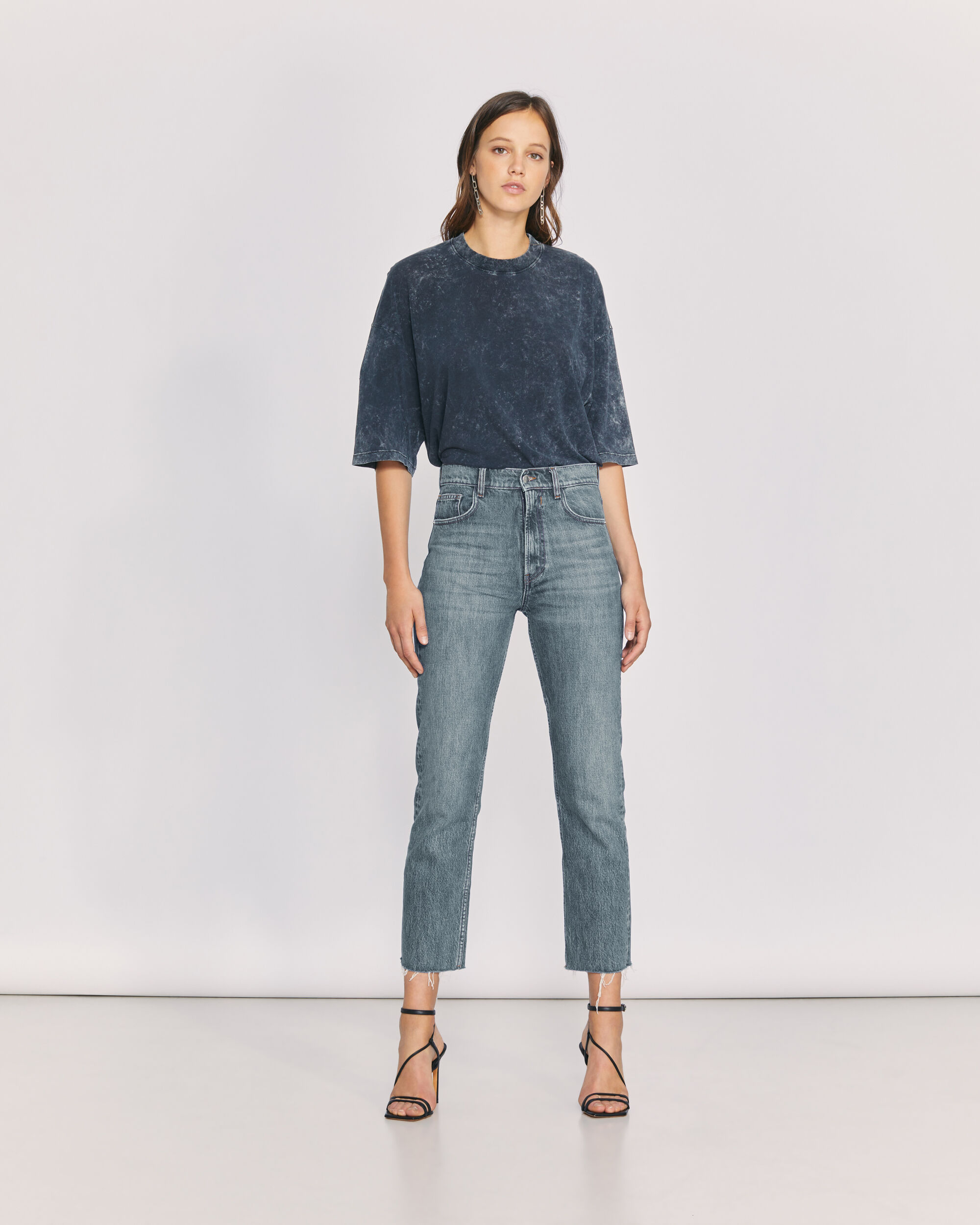 IRO HYPNOSIS JEANS,COUNTRY MID BLUE