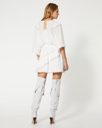 IRO - ZAFORA DRESS WHITE