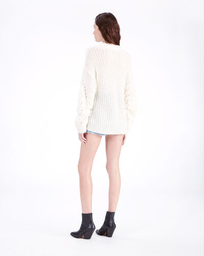 IRO - MARKLE SWEATER MIXED ECRU