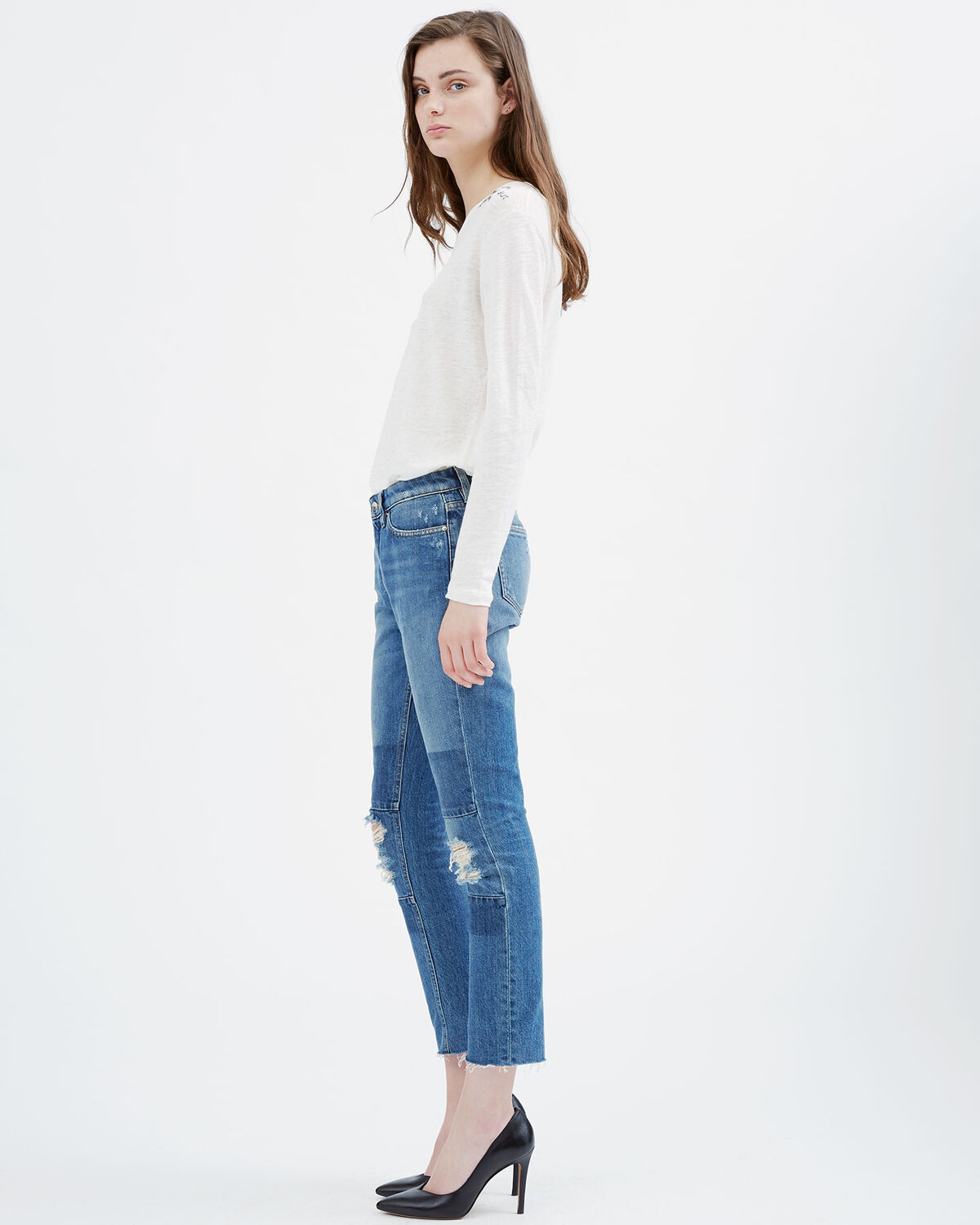 IRO - SOLANGE JEANS LIGHT BLUE DENIM