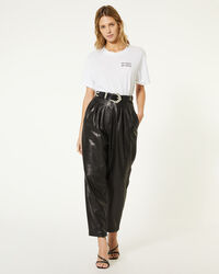 IRO - FINIO TROUSERS BLACK