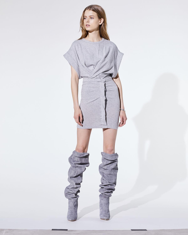 Wynot Dress Mixed Grey by IRO Paris