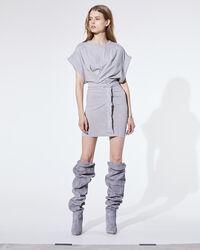 IRO - WYNOT DRESS MIXED GREY