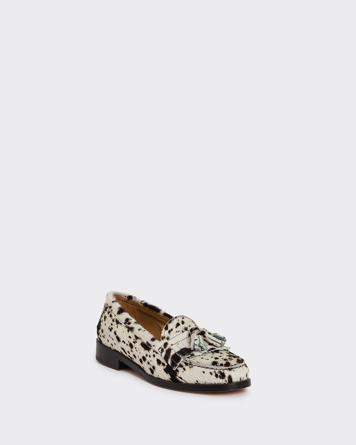 IRO - THASOS LOAFERS MULTICO BLACK