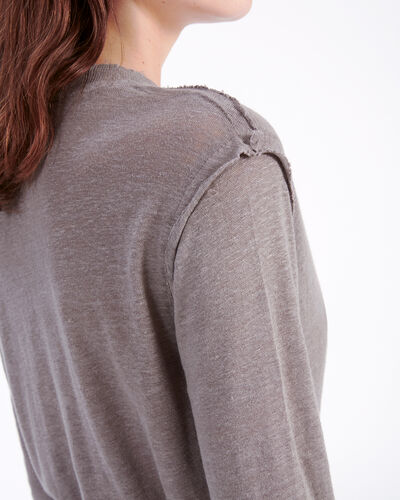 IRO - PEACEFUL T-SHIRT INDUSTRIAL GREY