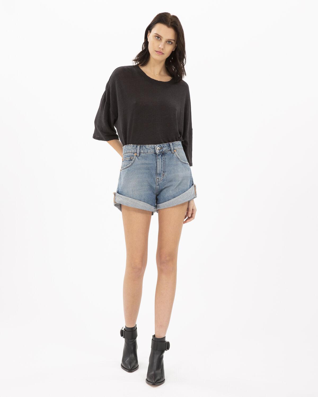 Sturdy T-Shirt Black by IRO Paris