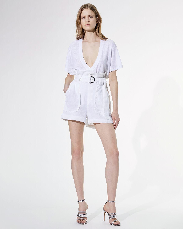 Lux Shorts White by IRO Paris